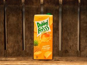 Dubbelfriss ananas & mango 1.5L