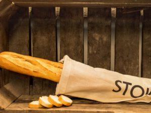 Stokbrood wit gesneden