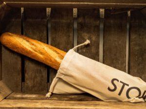 Stokbrood bruin heel