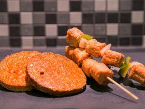 Vegatarisch barbecuepakket (p.p.)